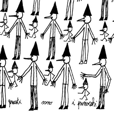 """<b>Marco Raugei</b><br>""""QUESTI SONO I PINOCCHI"""",1998"""