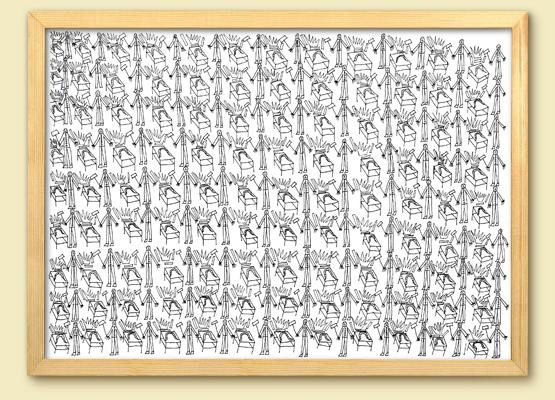 """<b>Marco Raugei</b><br>""""QUESTE SONO LE TAVOLE CONI FERRI LUOMINI CONLE ZAPPE"""", 1993"""